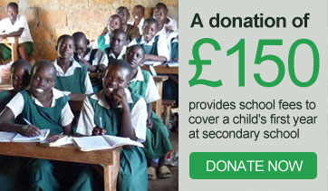 Support a vulnerable child in Kenya